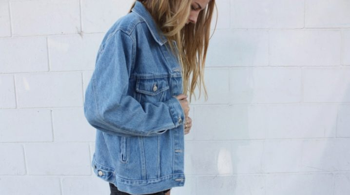 Джинсова куртка Oversize: модні образи