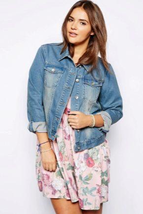 Довгі жіночі куртки джинсові