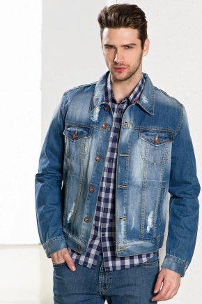 З чим носити джинсовий чоловічу куртку?