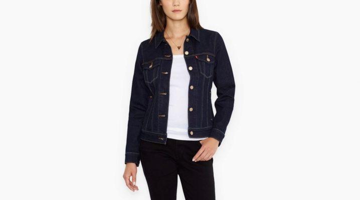Жіноча джинсова куртка Levis