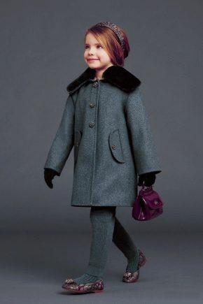 Модні дитячі пальто 2018 року