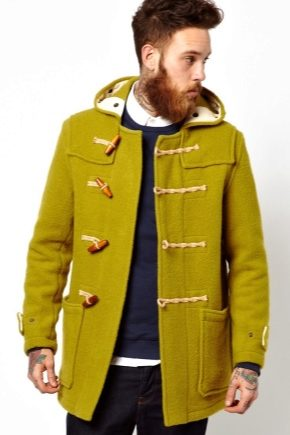 Чоловіче пальто дафлкот