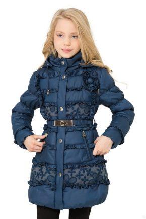 Демісезонне пальто для дівчинки на осінь-весну