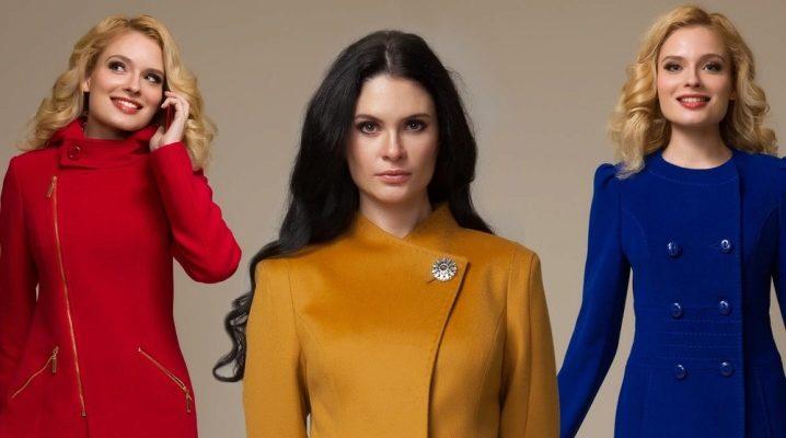 Жіночі пальта від московської фабрики «Аврора»