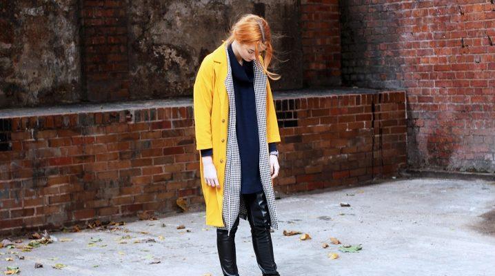 Жовте пальто: моделі і з чим носити?