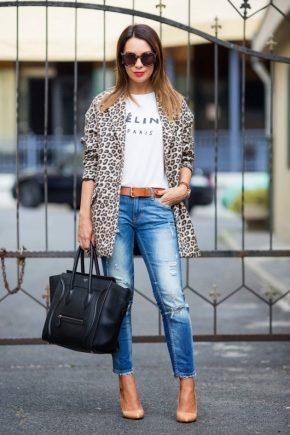 Леопардове пальто – знову в моді