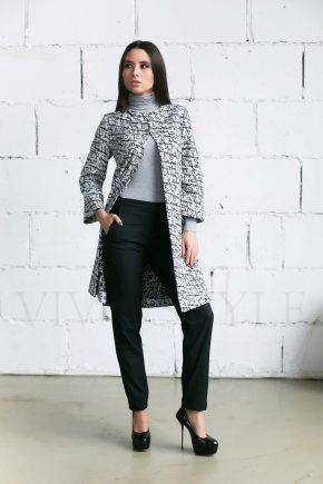 Літні пальто в стилі Шанель