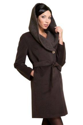 Трикотажне жіноче пальто