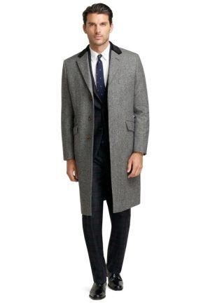 З чим носити чоловіче пальто?