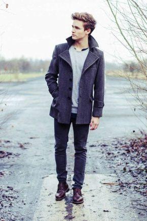Коротке пальто чоловіче