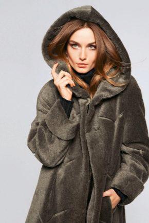 Жіночі пальто з вовни альпака