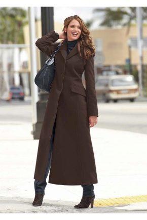 Довге пальто жіноче