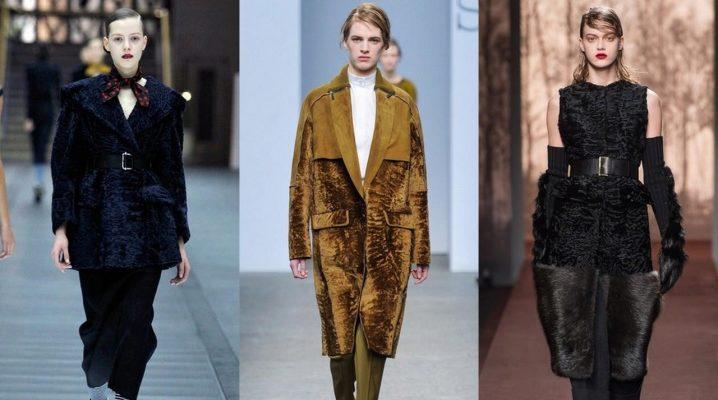 Пальто з каракуля і каракульчі