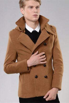 Чоловіче демісезонне пальто