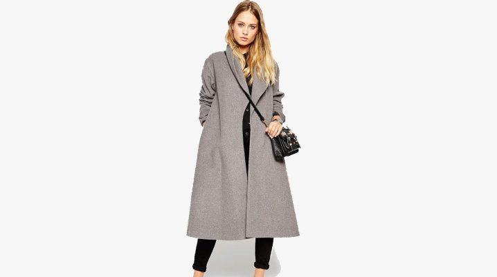 Пальто силуету трапеція
