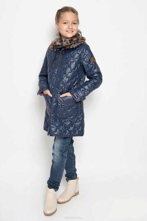 Стьобана пальто для дівчинки
