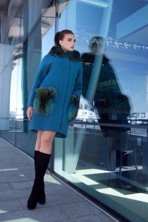Пальто від фірми Саманж