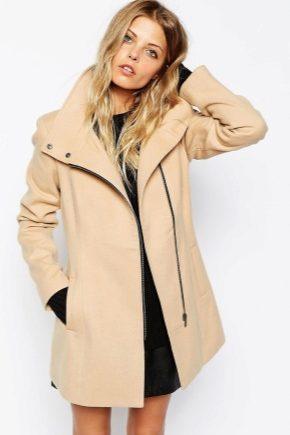 Пальто на блискавці