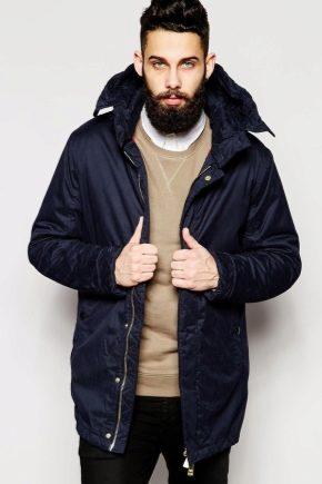 Чоловіча зимова куртка парку