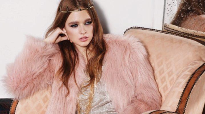 Рожева шуба – мікс жіночності, шику і гламуру