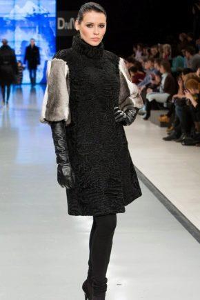 Комбіновані шуби на піку моди