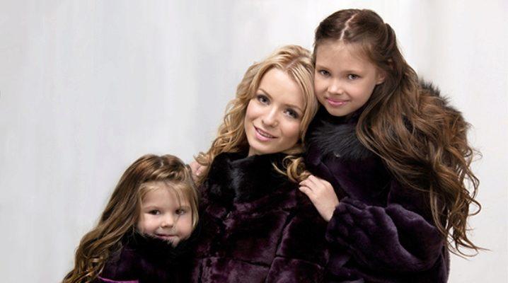 Дитячі шуби для дівчаток з натурального хутра