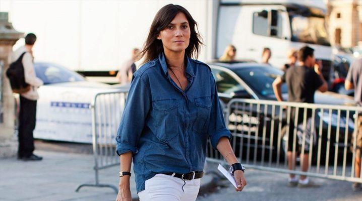 З чим носити білі джинси
