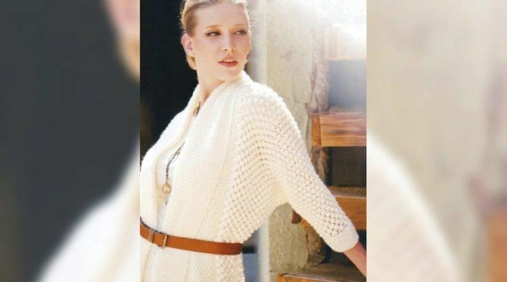 З чим носити білі кардигани?