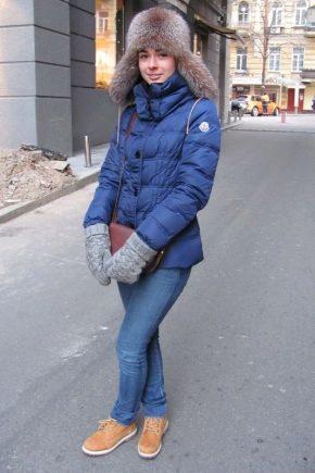 Жіночі зимові черевики на натуральному хутрі