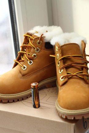 Дитячі черевики Timberland