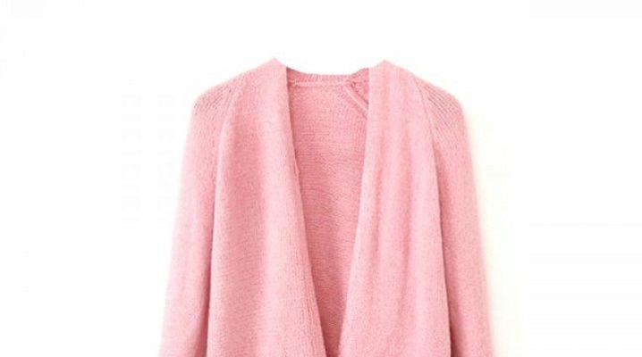 Рожевий кардиган: модні образи