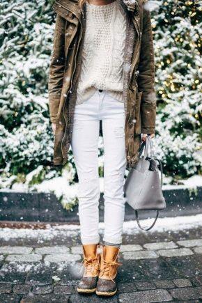 Жіночі та чоловічі зимові черевики на товстій підошві