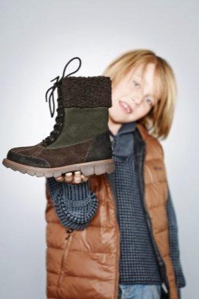 Модні і зручні дитячі черевики