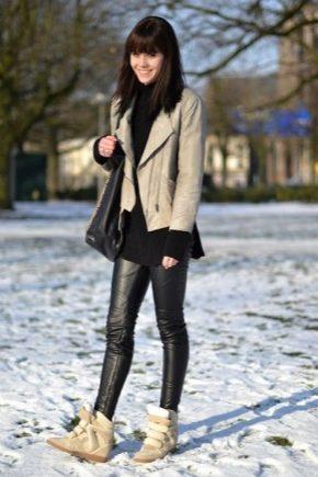 Зимові спортивні черевики