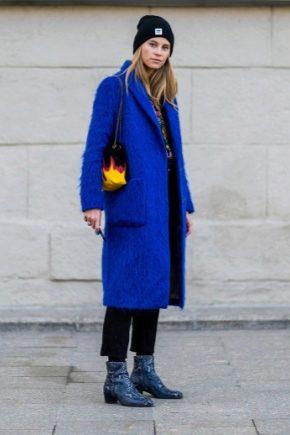 З чим носити сині черевики?