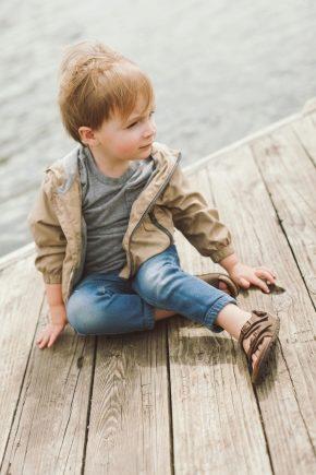 Дитячі сандалі для хлопчиків