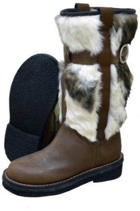 Жіночі чоботи монгольські