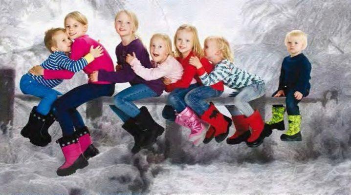 Фінські дитячі чоботи