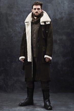 Фінські шкіряні чоботи для чоловіків на зиму
