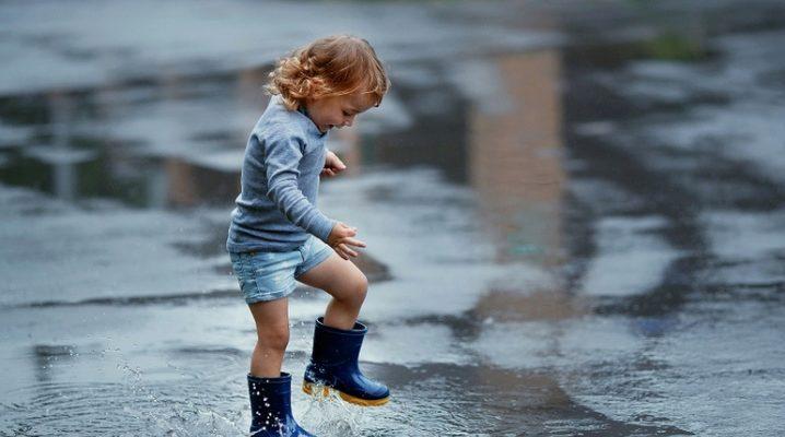 Гумові чоботи для хлопчика