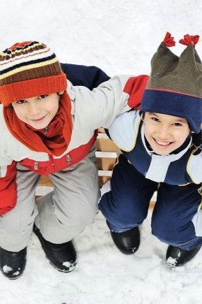 Дитячі зимові чобітки для хлопчиків