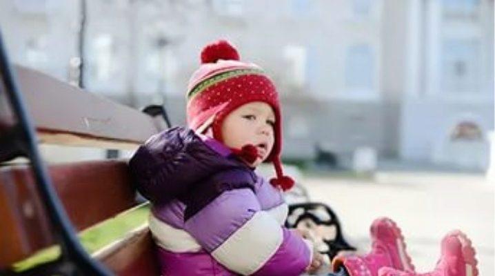 Дитячі зимові чобітки-дутики для дівчинки та хлопчика