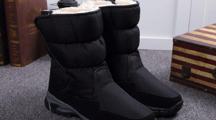 Чоловічі зимові чоботи-дутики