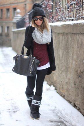 Зимові жіночі чоботи-дутики