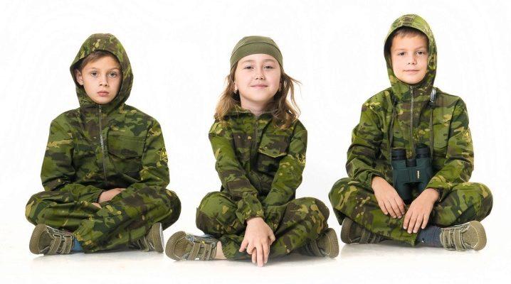 Камуфляжний костюм дитячий
