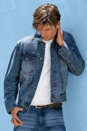 Модний джинсовий костюм для чоловіків