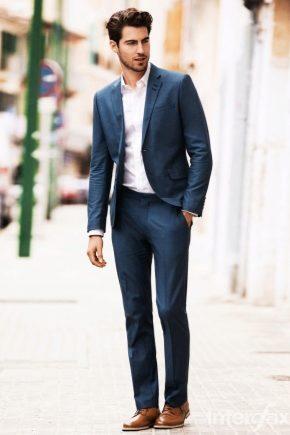 З чим носити чоловічі броги?