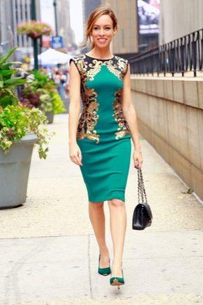 Які туфлі підійдуть до зеленому сукні?