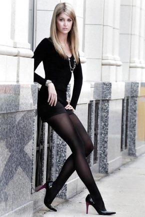 Можна комбінувати чорні колготки і чорні туфлі?