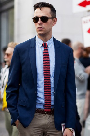В'язана краватка – must have сезону